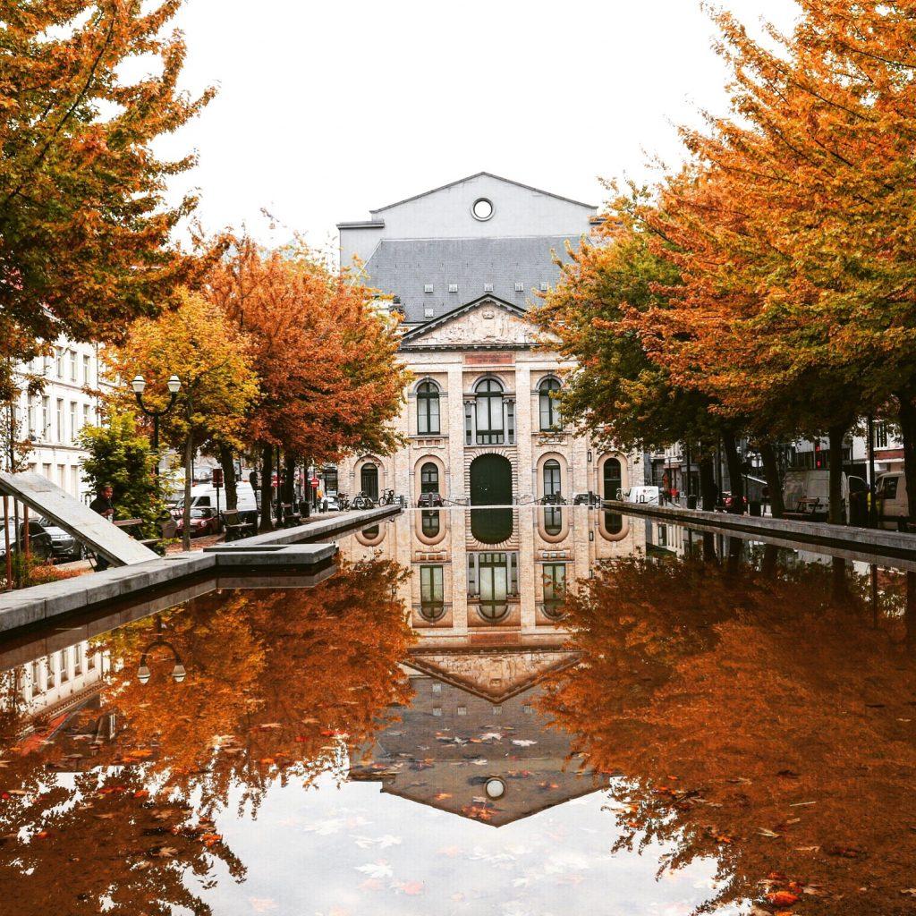Брюссель. Осень