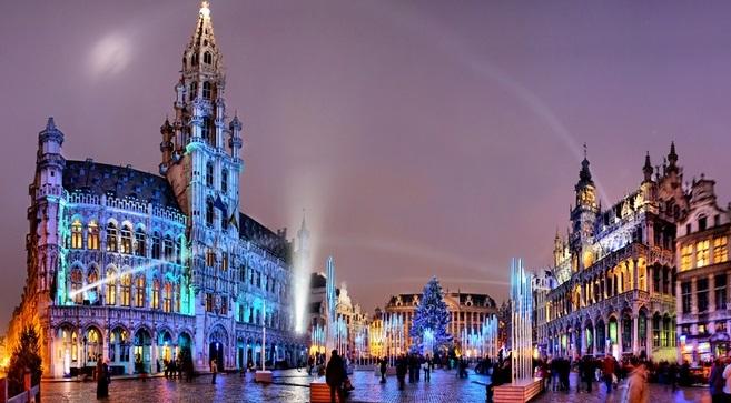 Брюссель в январе