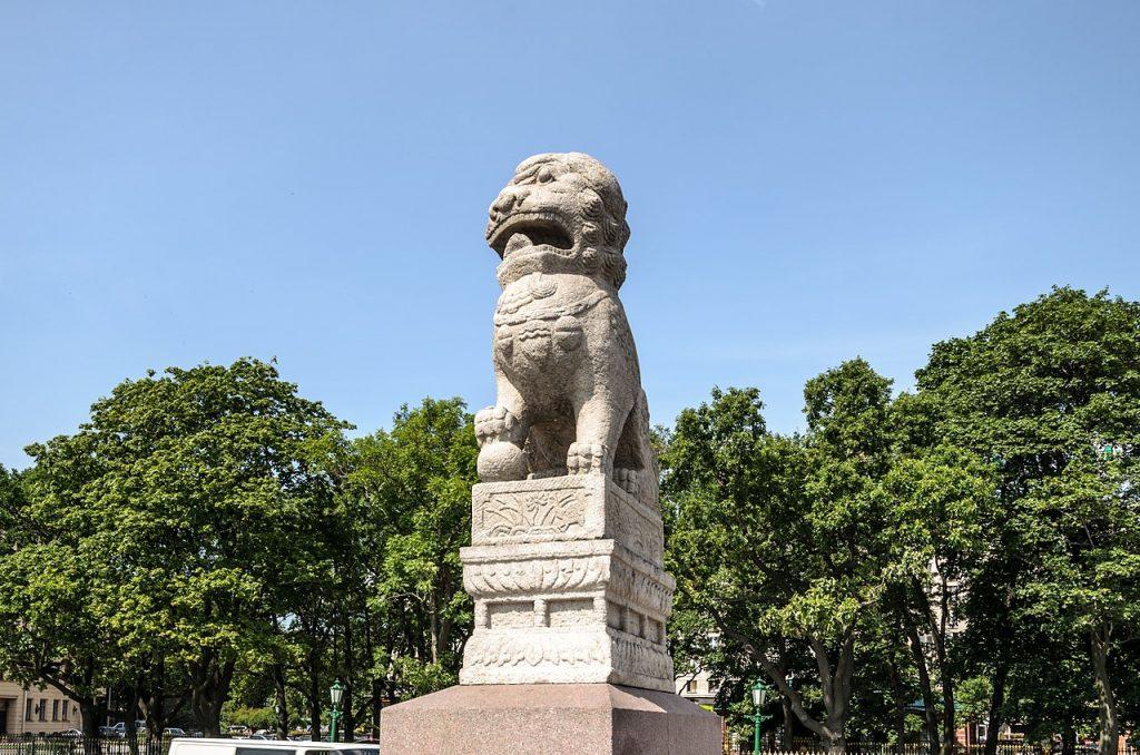 львы «Ши-цза»