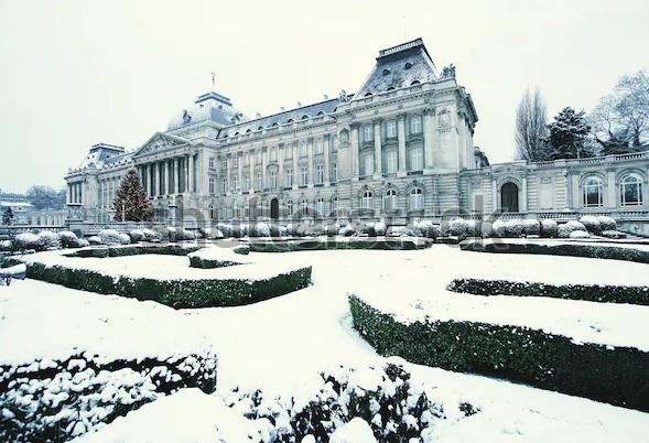 Брюссель в феврале. Королевский дворец