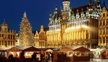Брюссель в декабре