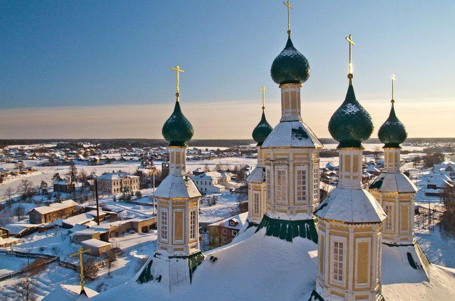 Кострома - город Золотого Кольца