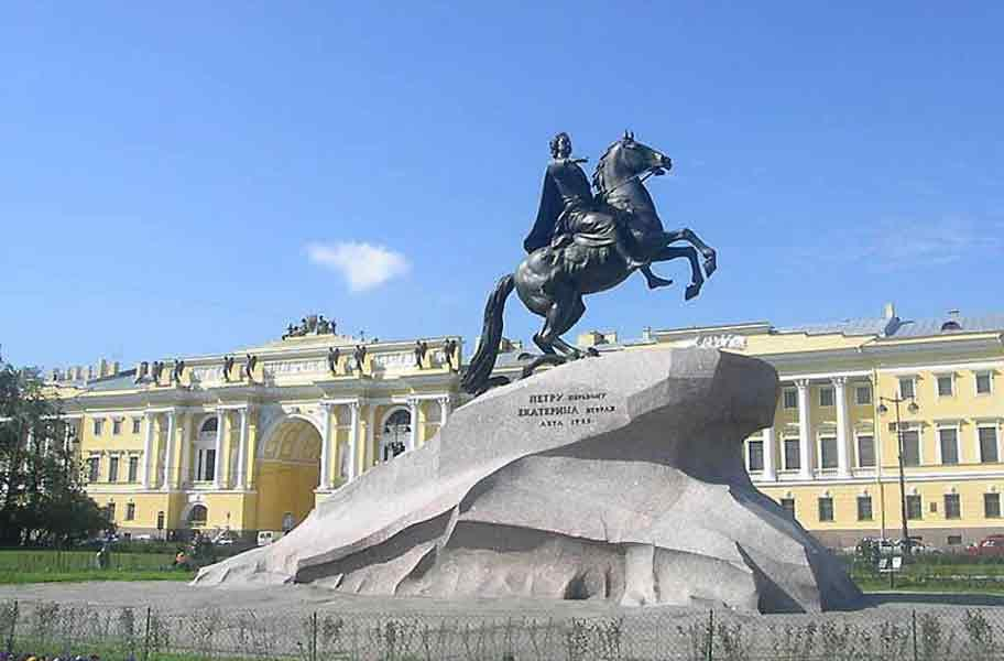 Памятник Петру Великому на Сенатской