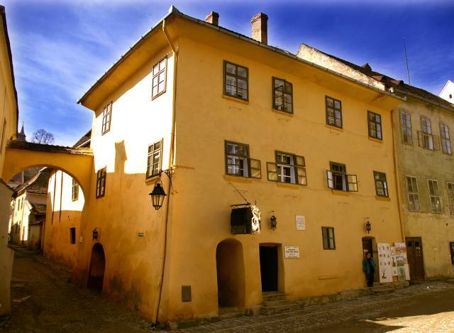 Дом, где родился Влад Цепеш в Сигишоаре