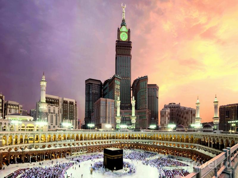 Башня в Мекке, Саудовская Аравия