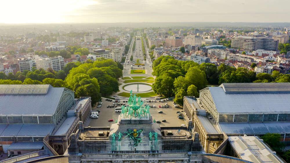 Весна в Брюсселе