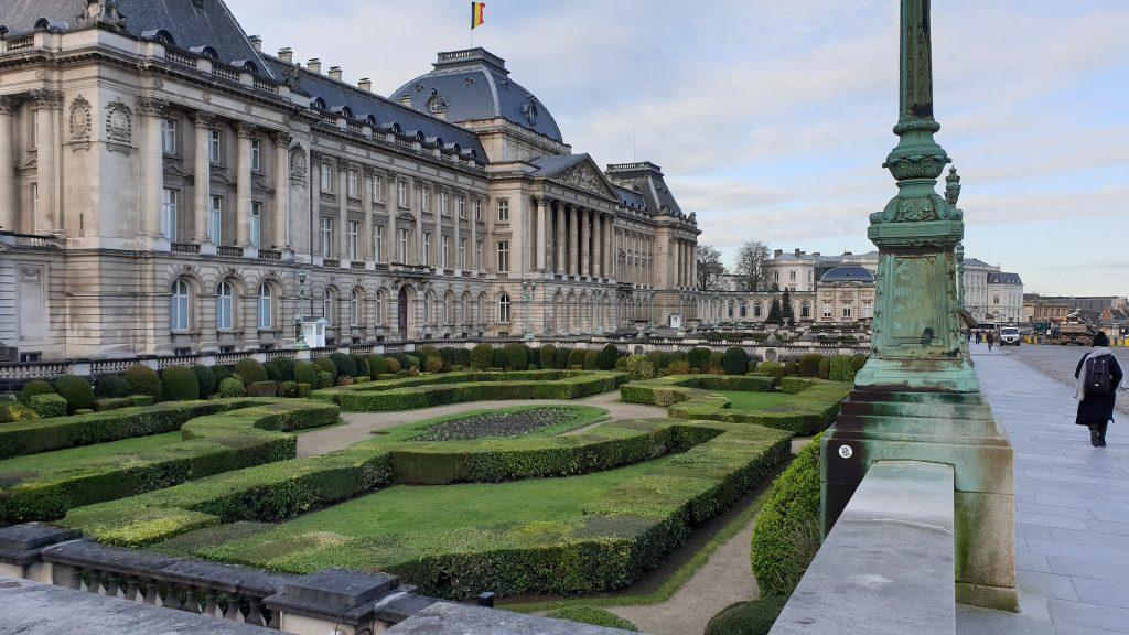 Апрель в Брюсселе