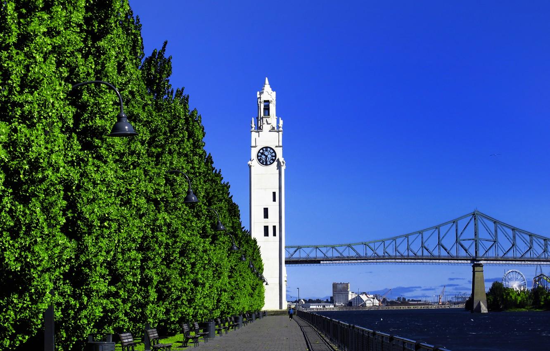 Башня с часами в Монреале