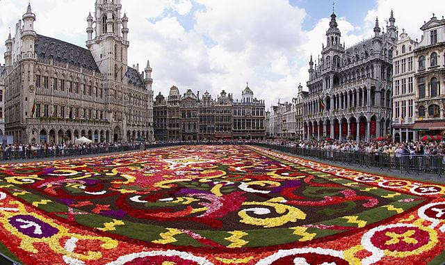 Цветущий Брюссель